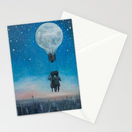Our Love Will Light The Night Stationery Cards