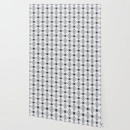 Geometric Pattern. Circles and Rhombuses Wallpaper
