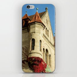 Oriel tower at the Castle iPhone Skin