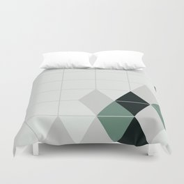 ice teal Duvet Cover