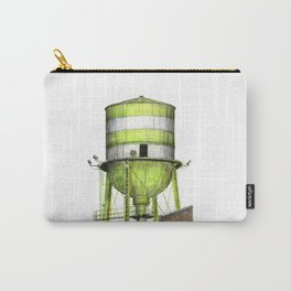 Montreal's Water Tower (Lachine Canal) Carry-All Pouch