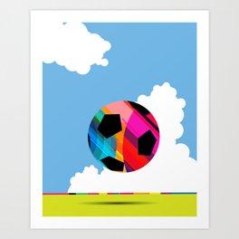 World Cup Soccer Art Print