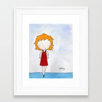sassy Framed Art Prints featuring Sassy by Amy K. Nichols