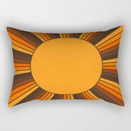 Golden Sunshine State Rectangular Pillow