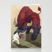 courage Stationery Cards featuring Courage by GlendaTse