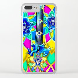 Fusion Keyblade Guitar #154 - Nightmare's End Reality Shift & Brightcrest Clear iPhone Case