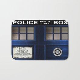 Tardis Doctor Who Bath Mat