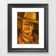 The Duke II Framed Art Print