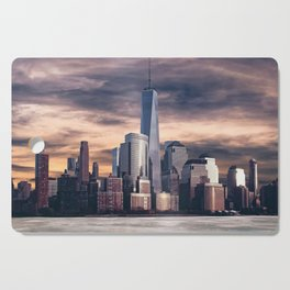 Dramatic City Skyline - NYC Cutting Board