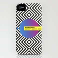 Impossible Symmetry - Circle iPhone (4, 4s) Slim Case