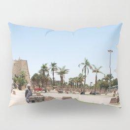 Temple of Luxor, no. 23 Pillow Sham
