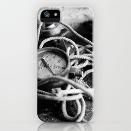 pressure iPhone Case
