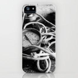 pressure iPhone Case