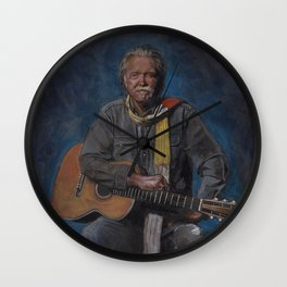 Guy Clark Wall Clock