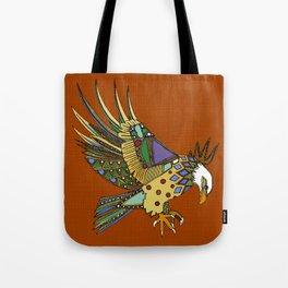 jewel eagle rust Tote Bag