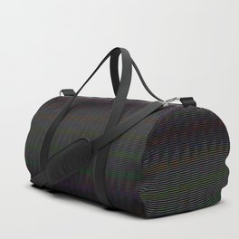 TV Static Duffle Bag