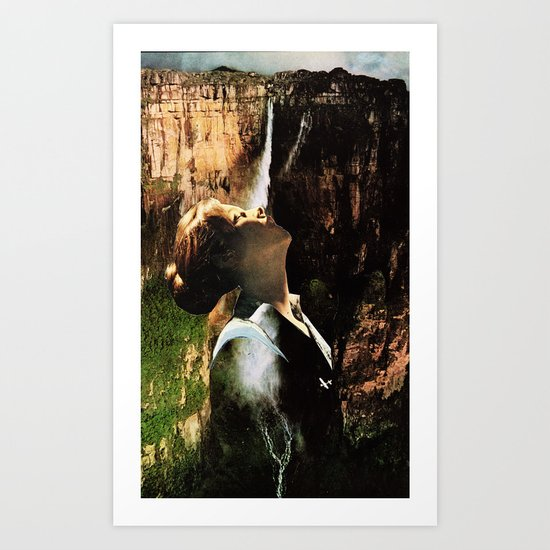 To be Absolved Art Print