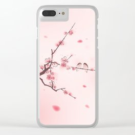 Oriental cherry blossom in spring 005 Clear iPhone Case