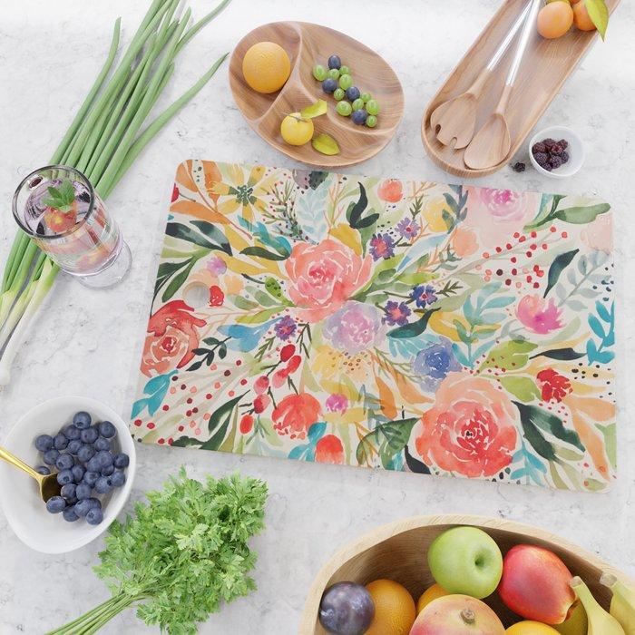 Flower Joy Cutting Board