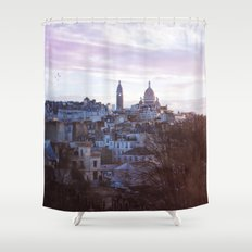 Basilique du Sacré Cœur, Paris. Shower Curtain