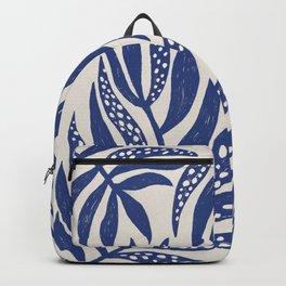 Blue Leaves Backpack