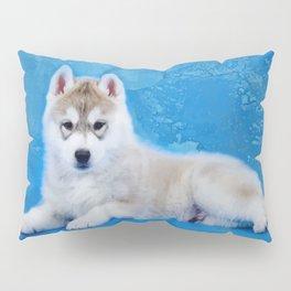 Siberian Husky Puppy Pillow Sham