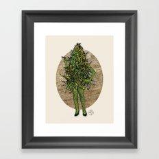 Mama Nugs Framed Art Print
