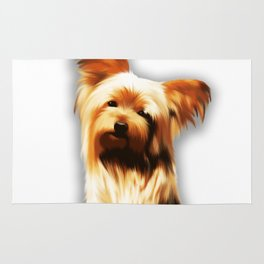 Yorkshire Puppy Tiny Dog Rug
