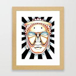I Am Awake Framed Art Print