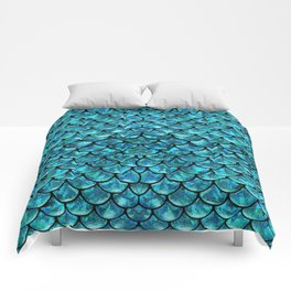 Mermaid Scales Design Comforters