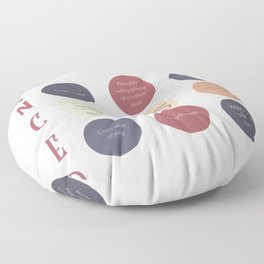 Cancer Zodiac Sign Personality Floor Pillow