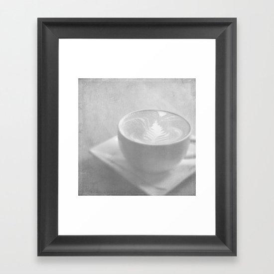 Hazy Morning Moments Framed Art Print