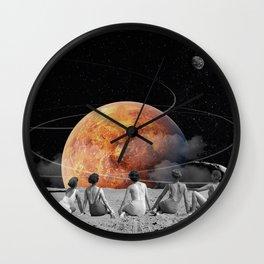 Venus Beach Wall Clock