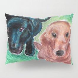Puppy Eyes Pillow Sham