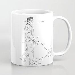 Retro 1980's Gadget Man Apple Watch Coffee Mug