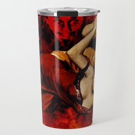 The Devil Made Me Do It Travel Mug