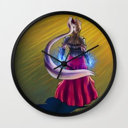 Quiet before the storm Wall Clock