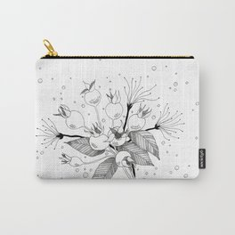 Rosebuds Carry-All Pouch