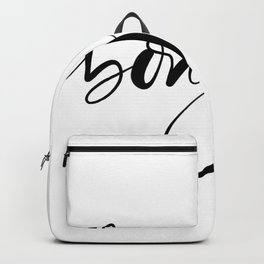 Bonjour,french hello Backpack