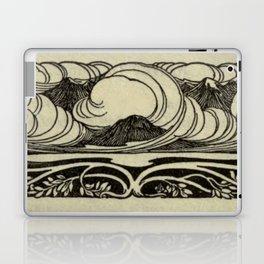 Art Nouveau Mountains Laptop & iPad Skin
