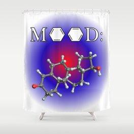 Mood - Testosterone Shower Curtain
