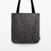 dots Tote Bags featuring Dots by Priscila Peress