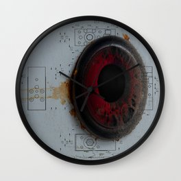 """""""Iris"""" Wall Clock"""