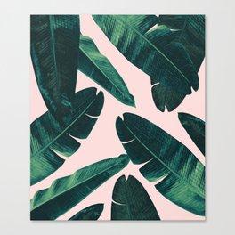 Banana Leaves - Cali Vibes #1 #tropical #decor #art #society6 Canvas Print