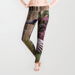 Canadian Geese at Rest Leggings