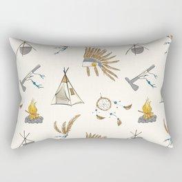 Native American tribal print Rectangular Pillow