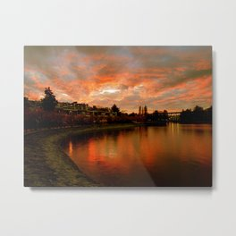 False Creek Sunsets Are Better Metal Print