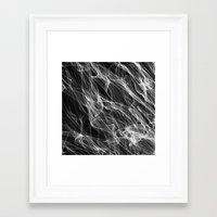 smoke Framed Art Prints featuring Smoke. by Assiyam