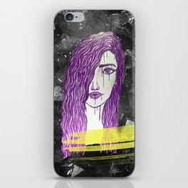 A Violet Gem iPhone Skin