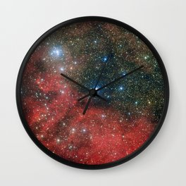 Star Cluster NGC 6604 Wall Clock